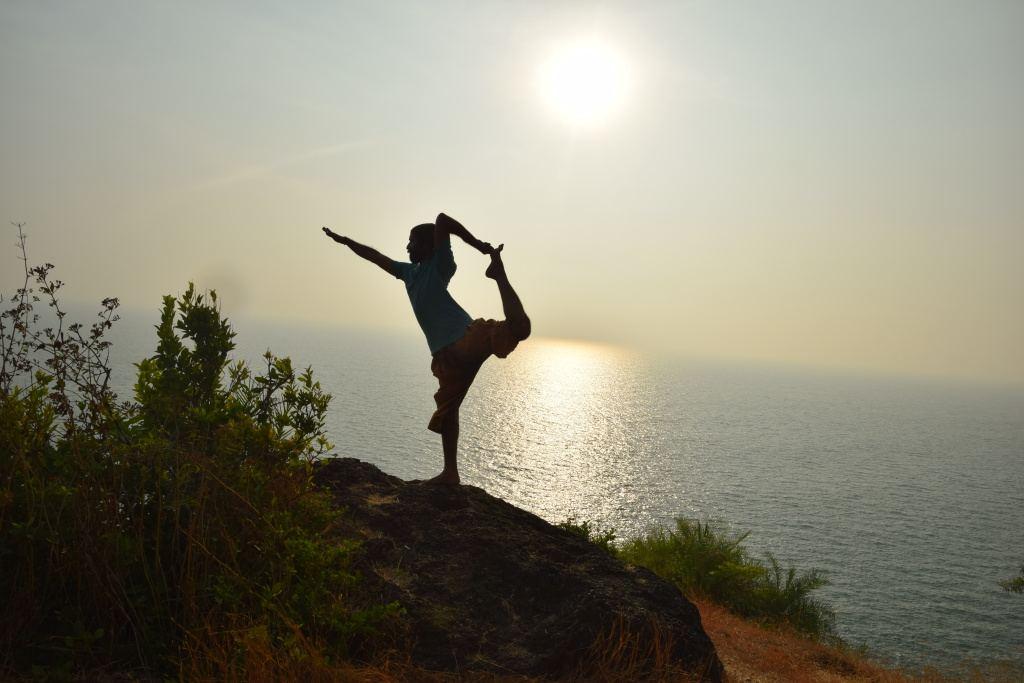 Natarajasana, der Tänzer