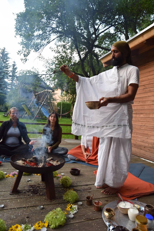 Einweihung des Ayurveda Raumes
